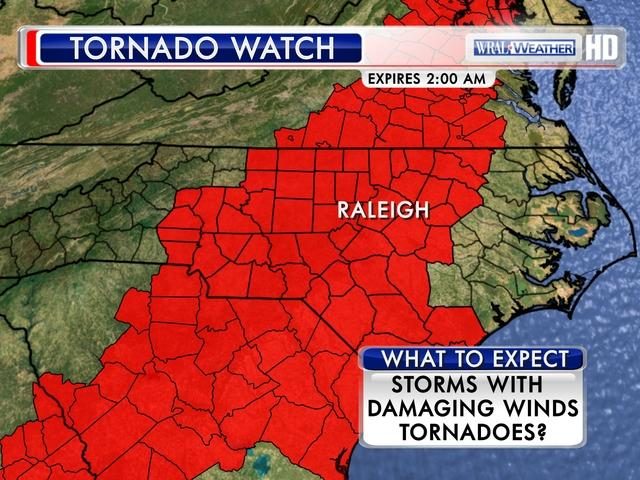 WRAL watch map